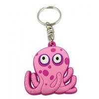 China Custom Rubber Keychains for Gifts on sale