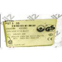 Quality Offer Machine parts PILZ Original PST3 3S Code:420280 stock Made in German stock for sale