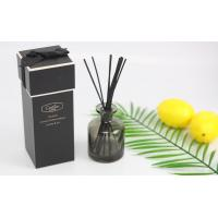 Black Painted Bottles Home Fragrance Diffuser For Cafe / Office Decoration