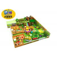 Buy cheap Customized Theme Kids Indoor Soft Playground Games Amunment Park from wholesalers