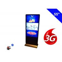 Buy cheap Floor Standing Wireless Network 3G Digital Signage Indoor Display LCD 55 Inch product