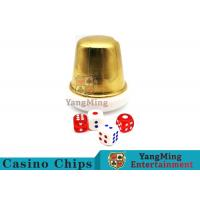 Buy cheap Macau Baccarat Dedicated Acrylic Dealer Button Plate Si Bo Poker Table Games Accessories product