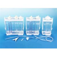 Portable Vacuum Drainage System Wound Care Double chamber 2500ml Fr16 Fr18