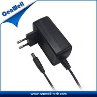 Buy cheap cenwell ac dc wall mount type 12v 3000ma power adapter eu plug product