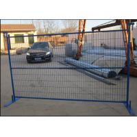 Buy cheap Protecting Temporary Site Security Fencing , Mobile Security Fence Movable product