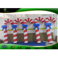 Buy cheap High Strength 1.5mH Inflatable Holiday Yard Decorations Air Candy Cane product