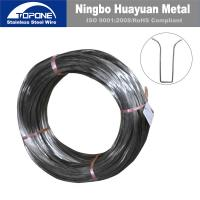 Buy cheap Industrial Stainless Steel Spring Wire For Bra / Bra Wire Anti Corrosion from wholesalers