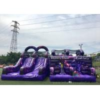 Buy cheap PVC Giant Outdoor Playground Inflatable Obstacle Course Customized Size product