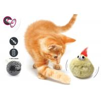 Buy cheap Electronic Auto Motion Bouncing Battery Operated Pet Toys With Plush Cover product