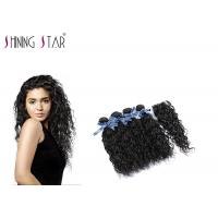 4 Pcs Unprocessed Human Hair Bundles , Long Peruvian Unprocessed Virgin Remy Hair