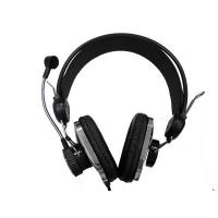 Buy cheap High Fidelity 16 ohms 100db / 1mw Wired Stereo Earphone / computer headset microphone product