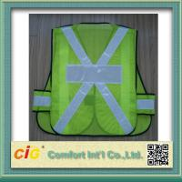 Buy cheap EN20471 and CE Standard LED Reflective Safety Vests , Orange Reflective Security Clohting product