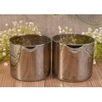 Buy cheap Luxury Handmade Silver Glass Candle Holders , Glass Cylinder Candle Holder from wholesalers