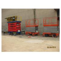 Buy cheap High Strength Steel Mobile Aerial Working Platform SJZ0.3-11 Electric Ladder Lift product