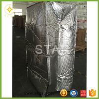 China 3A-2B-3A Bubble Foil Roof Insulation for moisture proof and heat break thermo break on sale