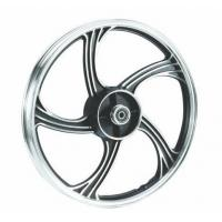 Buy cheap Alloy Motorcycle Wheel Parts A356 DIsc Type Customized Color / Size Wheel from wholesalers