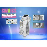 Buy cheap 3 In 1 Nd Yag Laser Hair Removal Machine , Yag Tattoo Removal Machines Long Lifespan product