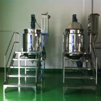 Buy cheap 500L Steam Heating Shampoo Mixer With Speed Control Multi-function Cosmetic Blending Tank product