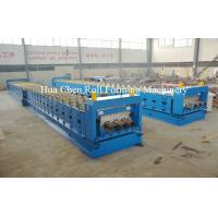 Buy cheap Metal Floor Deck Cold Roll Forming Machine for Thickness 1.5mm 22KW product