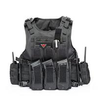 Quality Outdoor Army Military Bulletproof Vest Tactical Vest Outdoor Vest for Field Play for sale