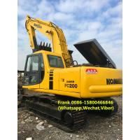 Buy cheap Diesel Fuel Second Hand Excavator , Used Komatsu Pc200 6 Excavator product