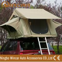 3 - 4 Person car Top Tent Water resistance polyester for Trailer