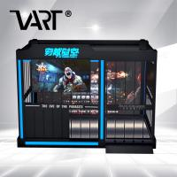 Buy cheap Gun Shooting VR Theme Park / 9D Virtual Alliance Adults Zombie FIghting Games from wholesalers