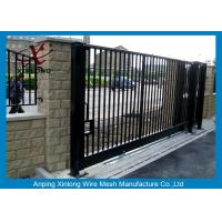 China Europe Style Welded Automatic Sliding Gates / Door Multi Function on sale