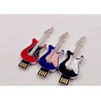Buy cheap Small Hi - Speed Jewelry Guitar Portable Usb Flash Drive 64gb Customed Logo product
