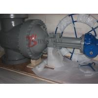 Buy cheap API 24 Inch 600LB Cast Steel Gate Valve Flange Type Stellite Facing Gear Operated product