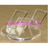 China Simple Design Clear Acrylic Knife Display Rack / Perspex Knife Holder on sale