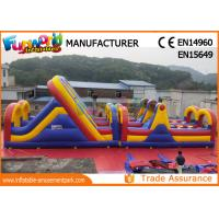 China PVC tarpaulin inflatable Obstacle Games Inflatable Sport Games On Sale on sale