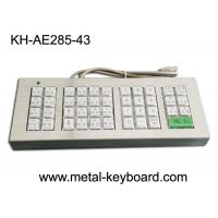 Buy cheap Customized 43 Buttons Metal Kiosk Keyboard, Stainless Steel Vandal Resistant from wholesalers