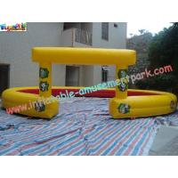 Buy cheap Car Race Track With High-Quality PVC Tarpaulin Inflatable Sports Games Race Track product