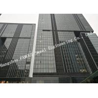 Buy cheap Double Glazed Layer Glass Facade Curtain Walling Multi-storey Steel Building For Business Mall product