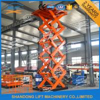 Buy cheap Heavy Loading Cargo Elevator Warehouse Vertical Stationary Cargo Lift With CE product