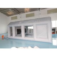 Buy cheap Grey Moveable Inflatable Car Paint Spray Booth With Filter System 6x4x2.5m product