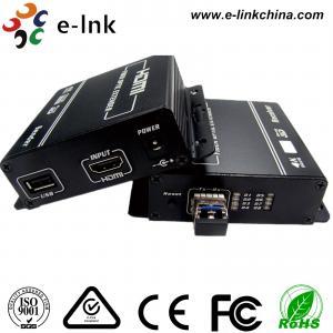 Buy cheap 1080P HDMI KVM over Fiber Optic Extender from wholesalers