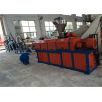 Buy cheap EVA TPE Shoe Sole Material Single Screw Extruder Plastic Pelletizing Line product