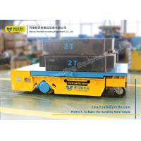 China Heavy Duty Industrial Transfer Car , Large Platform Battery Motorized Carriage on Wheels on sale