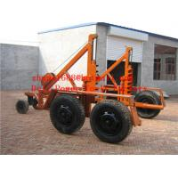 China  Cable Reel Trailer  Cable Reel Puller  Cable Conductor Drum Carrier  for sale