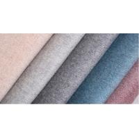 Buy cheap 820G/M Plain Double Sided Wool Fabric For Women'S Overcoat product