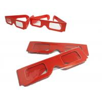 Buy cheap Theater Anaglyph 3d Glasses / 3d Passive Polarized Glasses Universal product