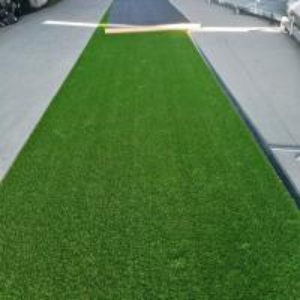 Buy cheap Outdoor Garden Artificial Grass / Fake Grass Front Garden 35mm Height V Shape product