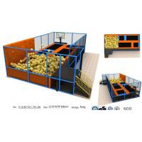 Buy cheap 78M2 Professional Gymnastic Trampoline/Chinese Bungee Park/ Fashional Sports Indoor Trampoline Park from wholesalers