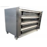 Buy cheap Biggest Baking Oven 4 Deck 16 Trays Electric / Gas Deck Oven Stainless Steel Digital Control product