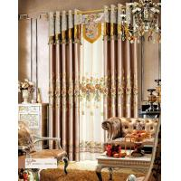 Buy cheap Europe Style Luxury Ready Made Curtains. product