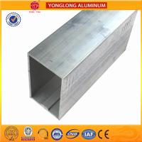 China Customized Size Aluminium Industrial Extrusion Tube Profile 6m Length on sale