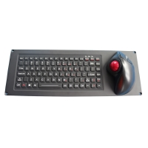 Buy cheap 87 Keys IP67 Dynamic Ruggedized Silicone Rubber Keyboard product
