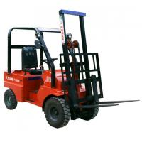 Buy cheap Economic Electric Stacker with Adjustable Wide with Leg Battery Powered Forklift product